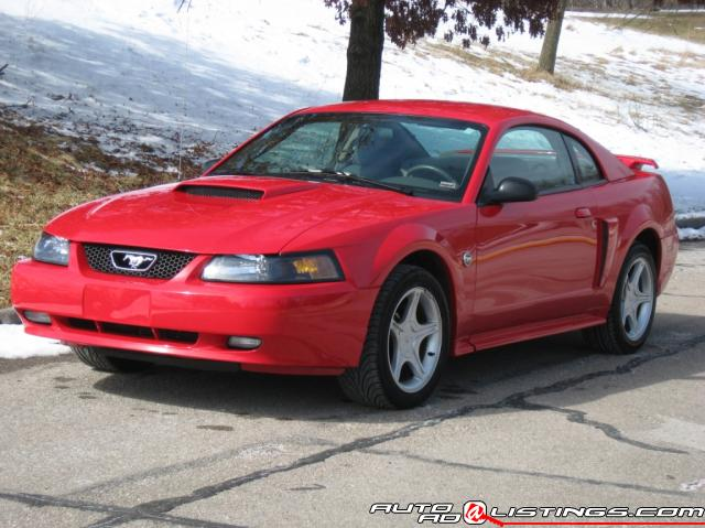 2004 Ford Mustang 40th Anniversary Coupe